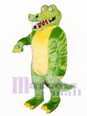 Brawny Gator Mascot Costume Animal