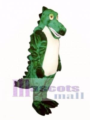 Sleepy Crocodile Mascot Costume Animal