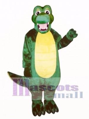 Happy Alligator Mascot Costume Animal