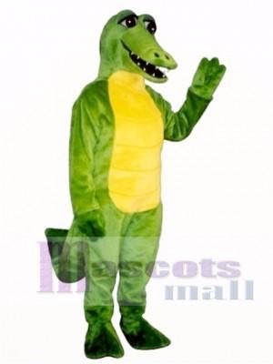 Friendly Alligator Mascot Costume Animal