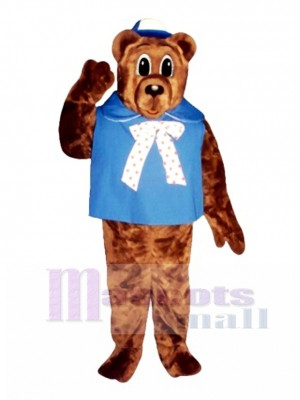 Baby Bear with Shirt & Hat Christmas Mascot Costume Animal