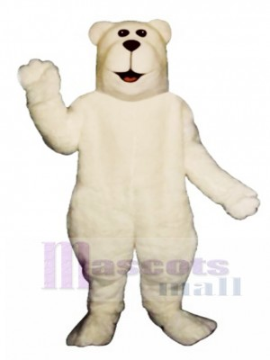 Arctic Bear Christmas Mascot Costume Animal