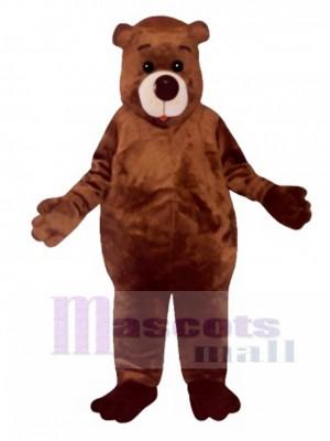 Cute Chubby Bear Mascot Costume Animal