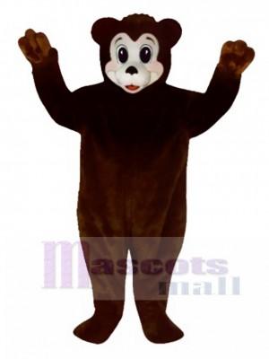 Cute Bobbie Bear Mascot Costume Animal