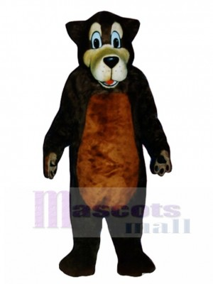 Cute Brother Bear Mascot Costume Animal