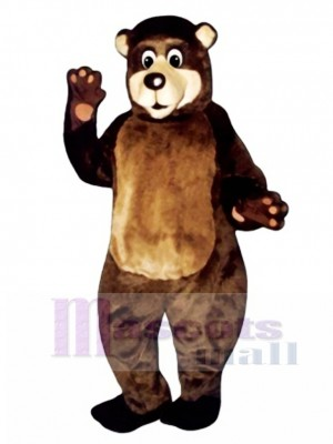 Grandpa Bear Mascot Costume Animal