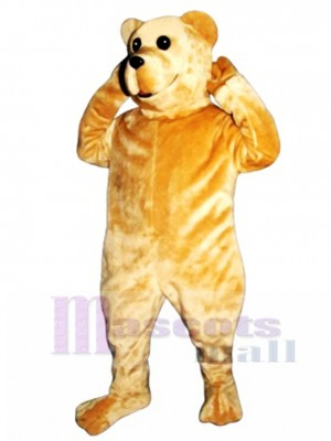 Cute Bruce Bear Mascot Costume Animal