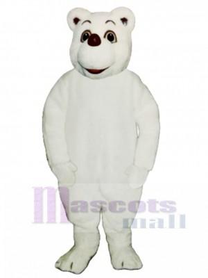 Baby Polar Bear Mascot Costume Animal