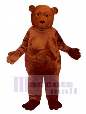 New Sleepy Bear Mascot Costume Animal