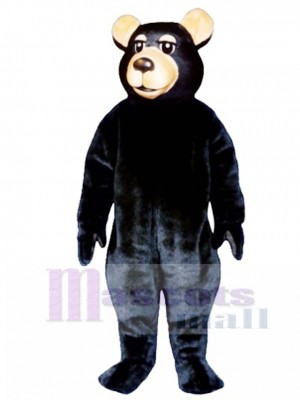 New Black Bear Mascot Costume Animal