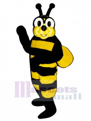 Yellow Jacket Bee Mascot Costume Insect