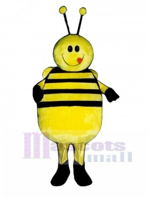 Fat Bee Mascot Costume Insect