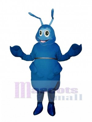 Blue Bug Mascot Costume Insect