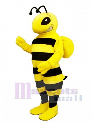Cartoon Bee Mascot Costume Insect