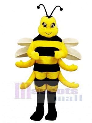 Royal Bee Mascot Costume Insect