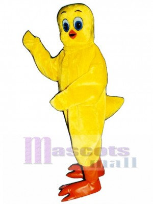 Cute Canary Bird Mascot Costume Bird