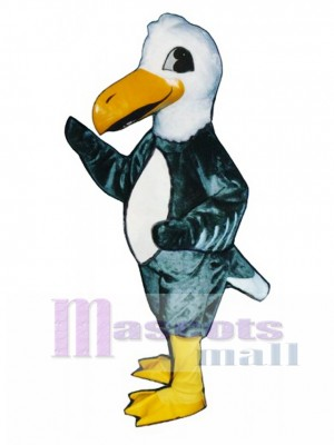 Cute Albatross Gooney Bird Mascot Costume Bird