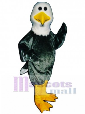 Cute Alan Albatross Mascot Costume Bird