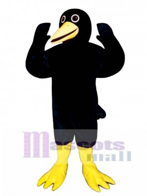 Cute Blackie Blackbird Mascot Costume Bird