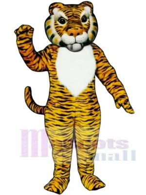 Cute Comic Tiger Mascot Costume Animal