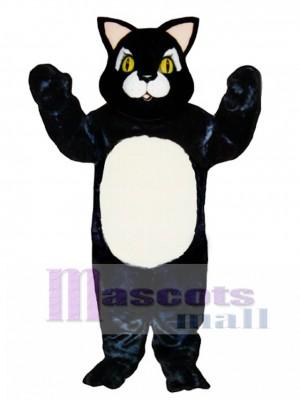 Cute Blackie Cat Mascot Costume Animal