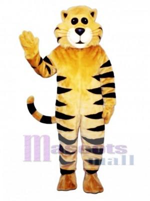 Cute Tan Meow Cat Mascot Costume Animal