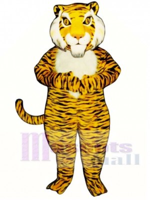 Cute Jungle Tiger Mascot Costume Animal