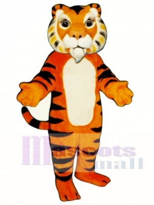 Cute India Tiger Mascot Costume Animal