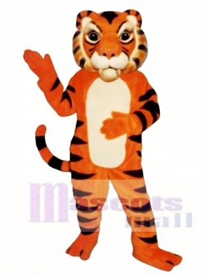 Cute Siberian Tiger Mascot Costume Animal