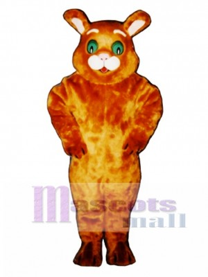 Cute Wide-Eyed Cat Mascot Costume Animal