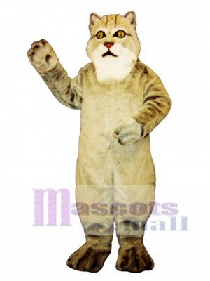 Cute Lynx Cat Mascot Costume Animal