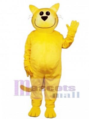 Cute Smug Cat Mascot Costume Animal
