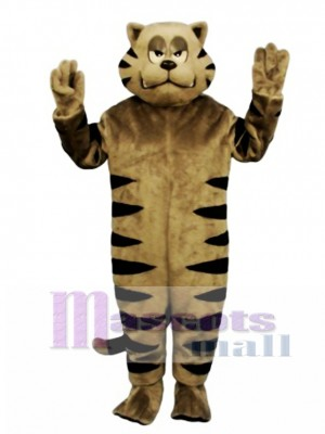 Cute Growly Alley Cat Mascot Costume Animal