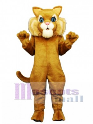Cute Miss Boots Cat Mascot Costume Animal  Animal