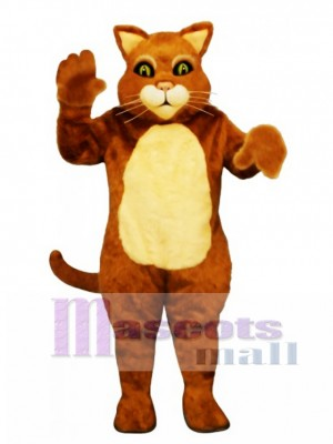 Cute James the Cat Mascot Costume Animal