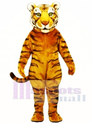 Cute Tiger Ted Mascot Costume Animal