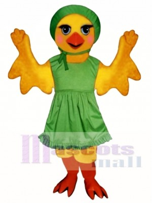 Cute Chickie Chick with Apron & Hat Mascot Costume Animal