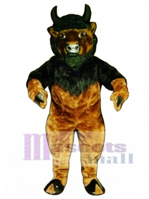 Buffalo Mascot Costume Animal