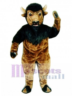Bison Mascot Costume Animal