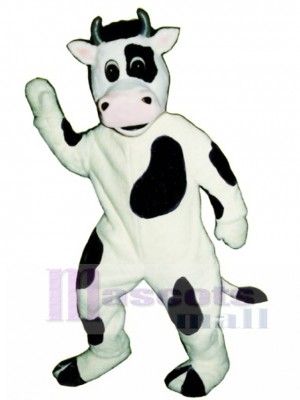 Cow Mascot Costume Animal