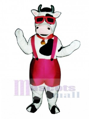 Mootown Moo Cow Mascot Costume Animal