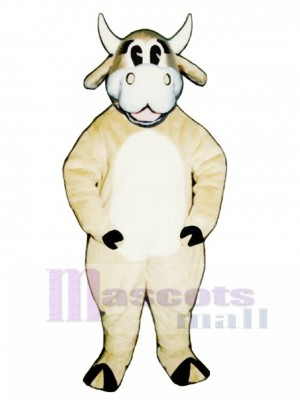 Jersey Jezebell Cattle Christmas Mascot Costume Animal