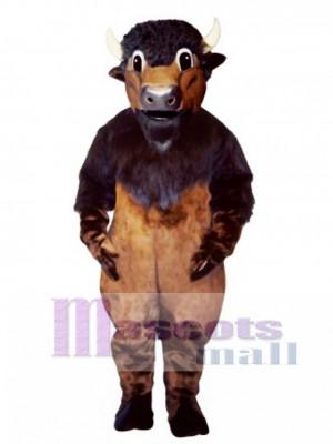 Buffy Buffalo Mascot Costume Animal