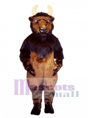 Buddy Buffalo Mascot Costume Animal