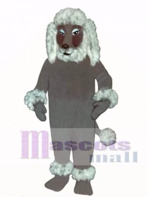 Cute Poodle Dog Mascot Costume Animal