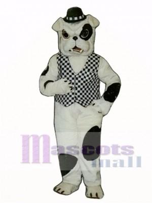 Cute English Bulldog Dog Mascot Costume Animal