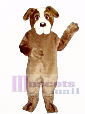 Cute St. Bernard Dog Mascot Costume Animal