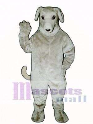Cute Greyhound Dog Mascot Costume Animal