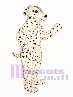 Cute Realistic Dalmatian Dog Mascot Costume Animal