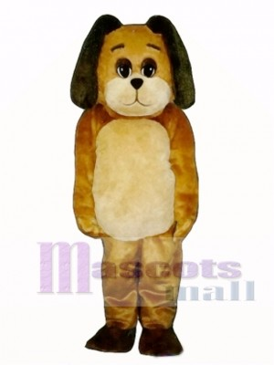Cute Mortimer Mutt Dog Mascot Costume Animal
